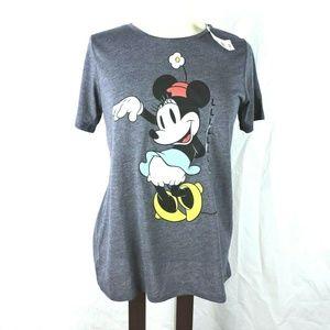 Disney T Shirt Size Large Juniors Minnie Mouse